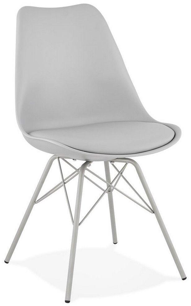 Kokoon design - krzesło fabrik, szare