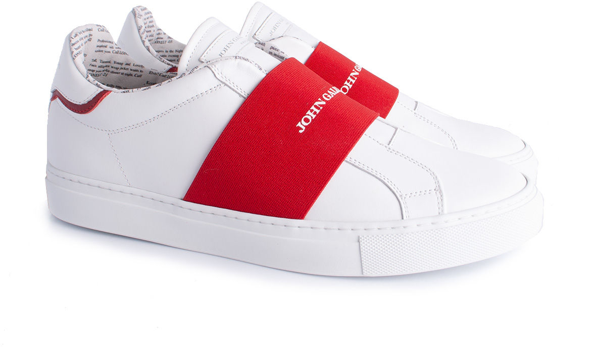 "John Galliano John Galliano Sneakersy ""Slip-on"""