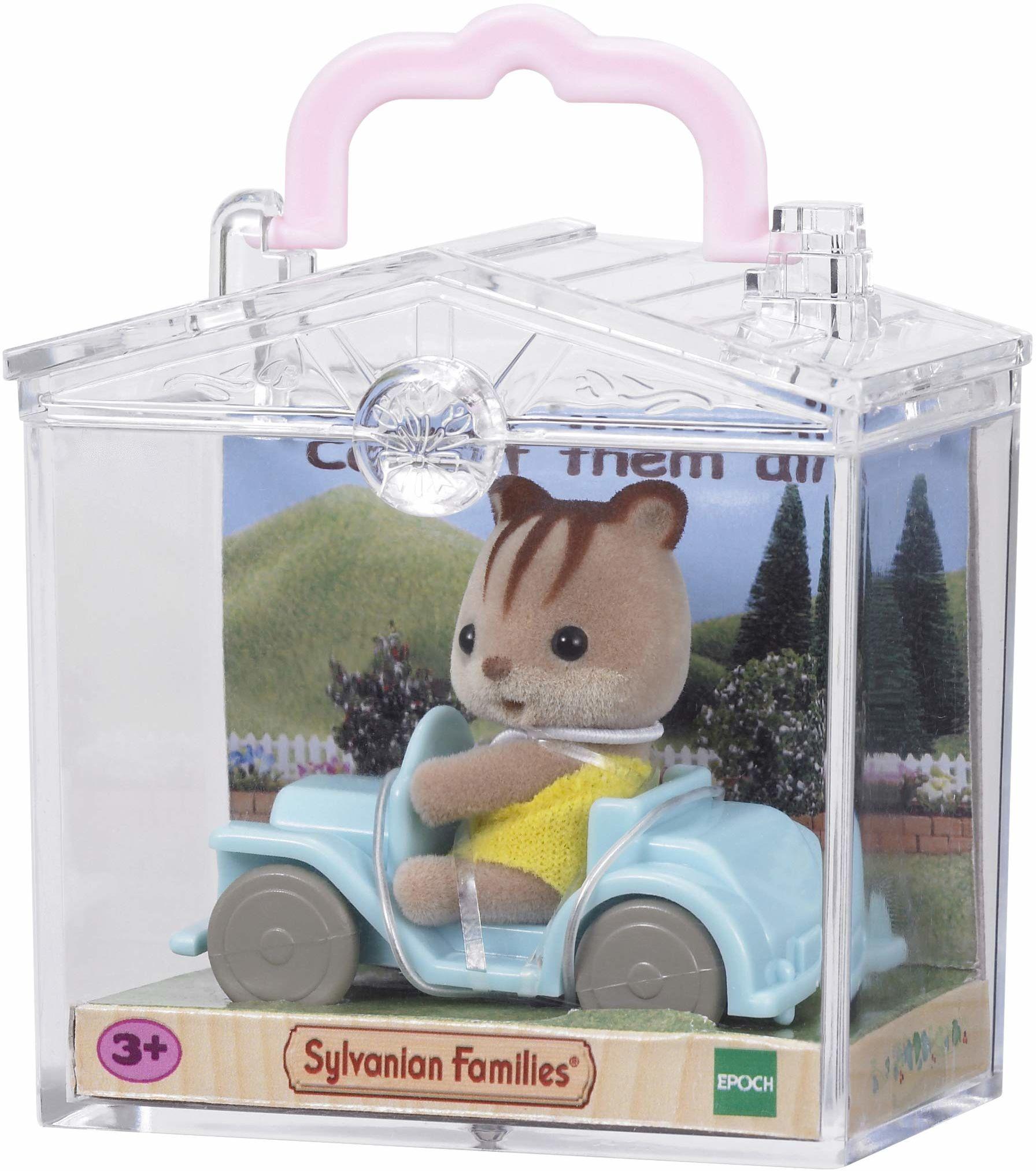Sylvanian Families - 5203 - Minipudełko: wiewiórka w samochodzie
