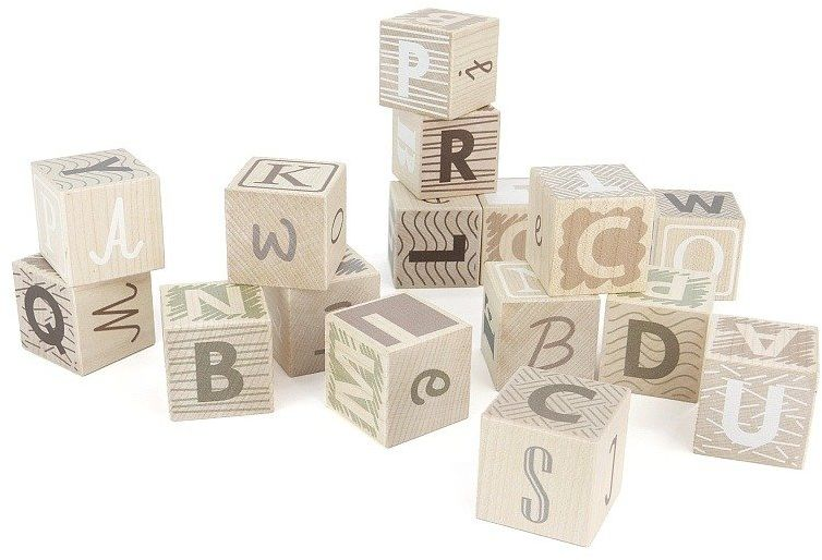 Klocki dla dzieci Finezja liter 92340-Bajo, zabawki edukacyjne