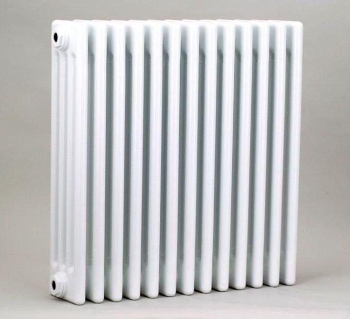 Grzejnik pokojowy retro - 3 kolumnowy, 600x600, biały/ral - paleta ral