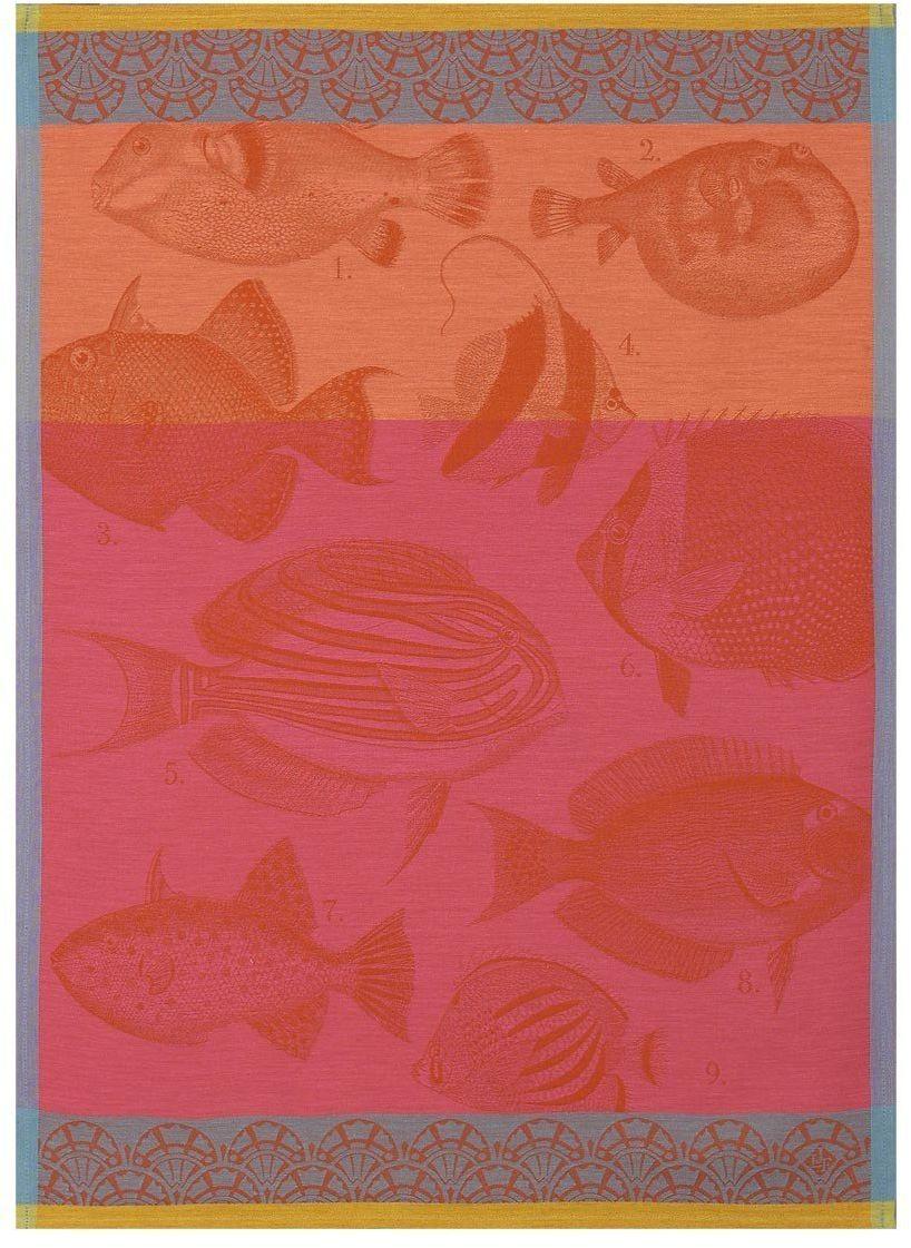 Ściereczka kuchenna Le Jacquard Fran ais Moorea Coral - Coral