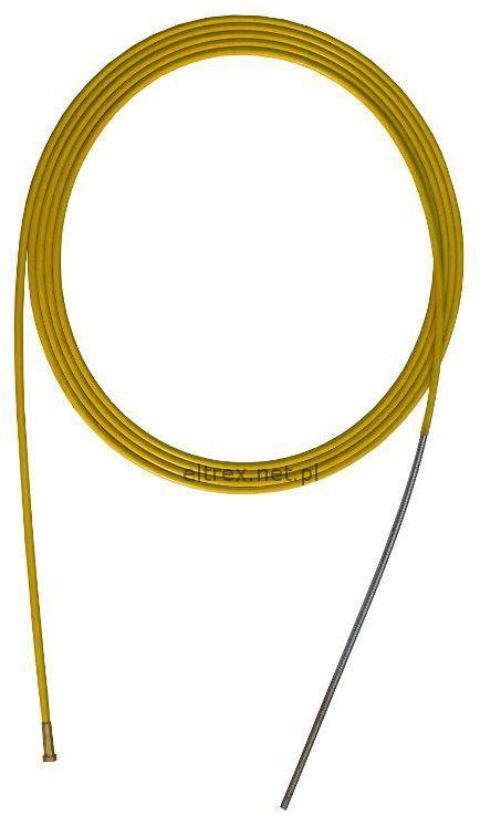 Prowadnik drutu 1,2-1,6mm żółty do uchwytów MigMag
