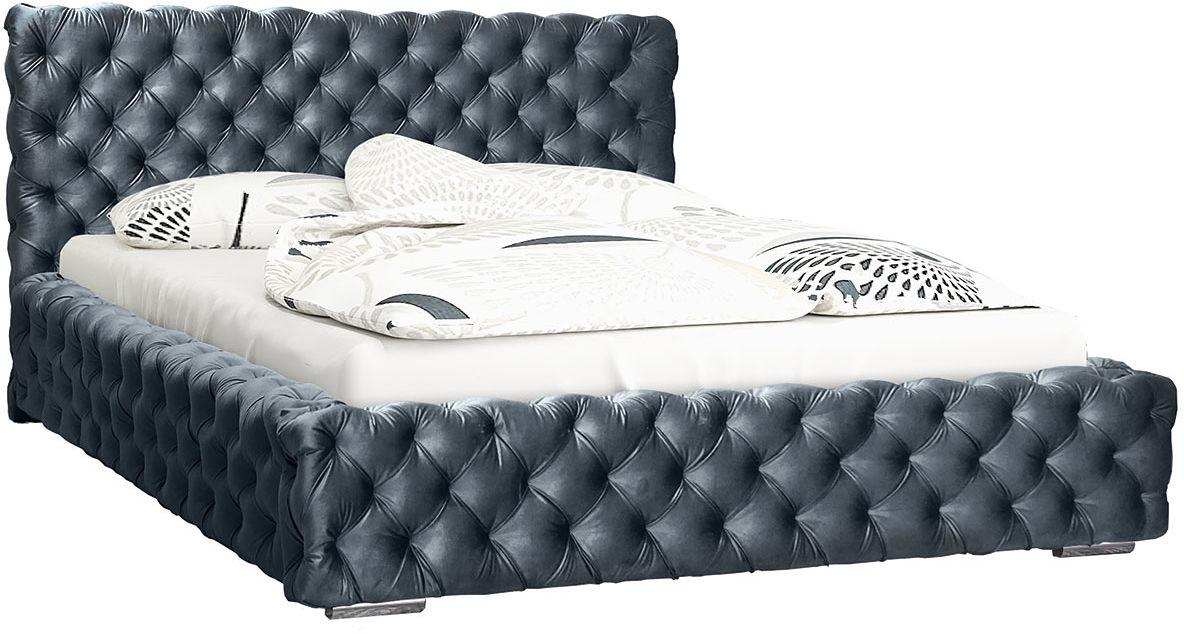 Pojedyncze łóżko tapicerowane 90x200 Sari 3X - 48 kolorów
