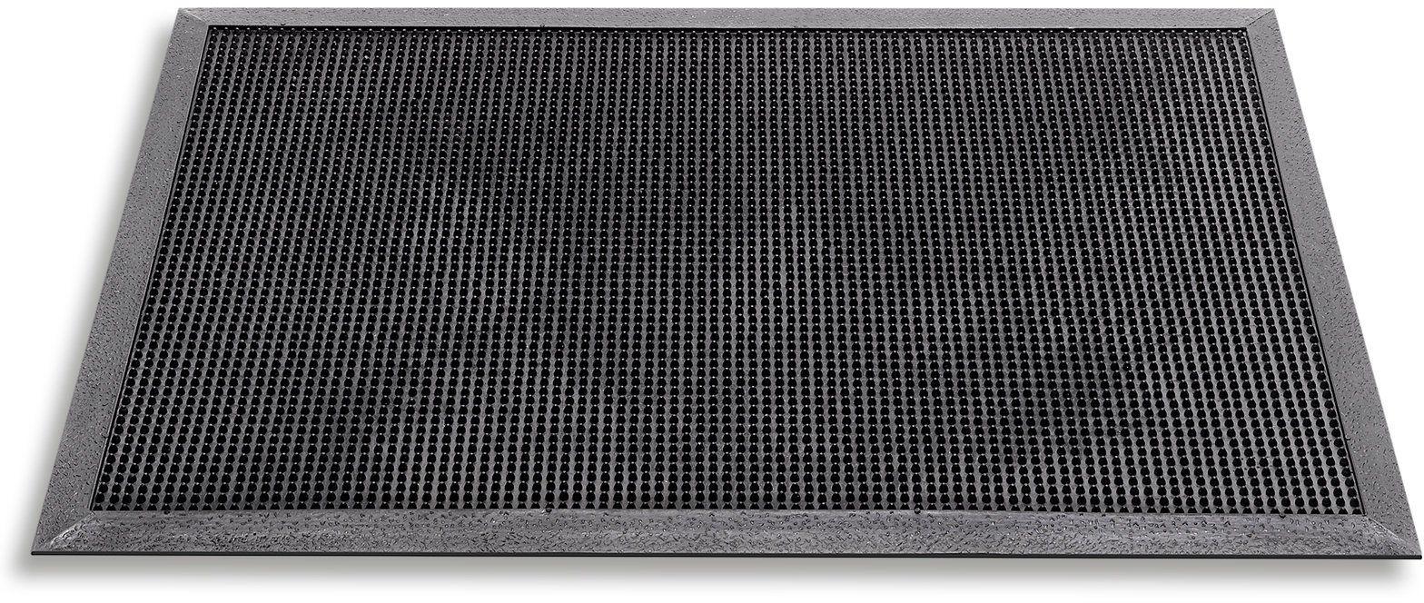 Hamat mata zewnętrzna/wycieraczka Fingertip, 40 x 60 cm, czarna