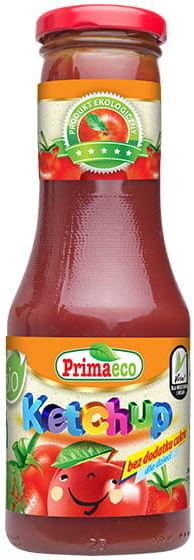 Ketchup bez dodatku cukrów dla dzieci bio 315 g - primaeco