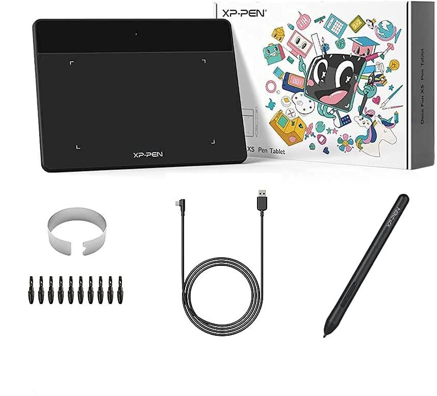 Tablet graficzny XP-Pen Deco Fun XS czarny