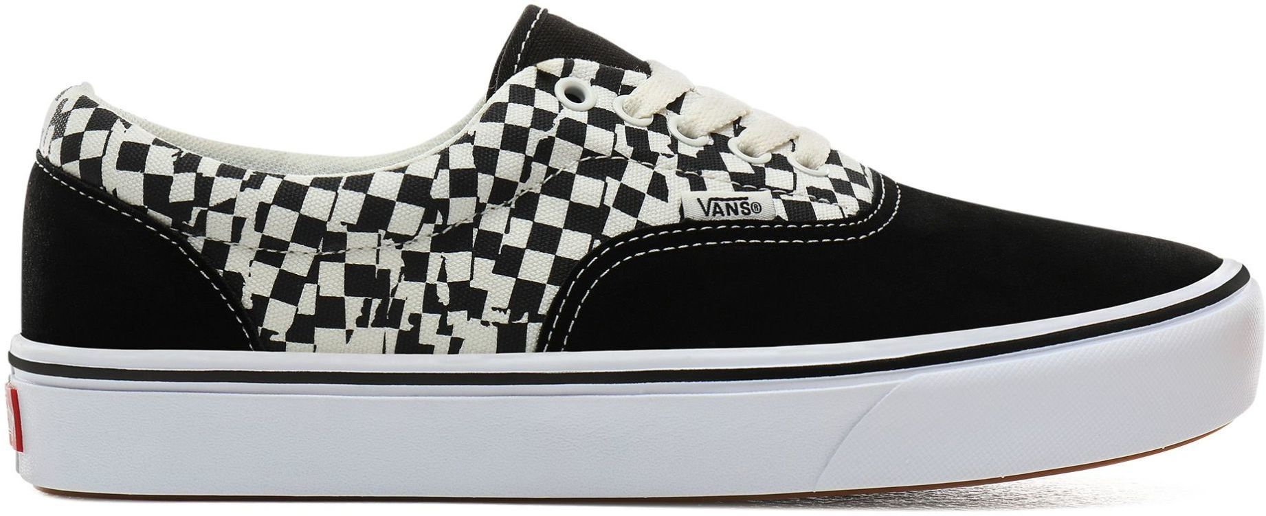 obuwie męskie VANS ComfyCush ERA (TEAR CHECK) Black/True White