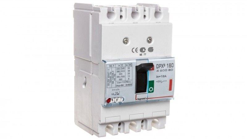 Wyłącznik mocy 3P 16A 36kA DPX3 160 420080