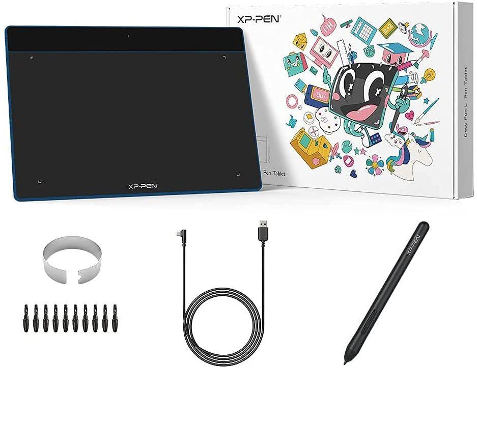 Tablet graficzny XP-Pen Deco Fun XS niebieski