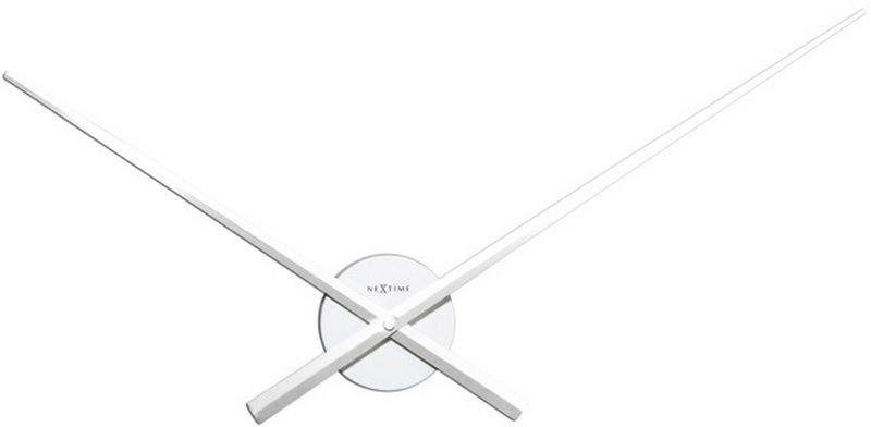 Nextime - zegar ścienny hands - biały