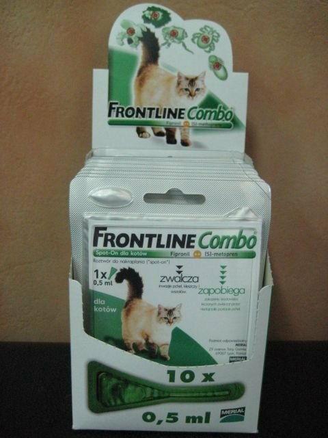 Frontline Combo Spot On Kot 1x0,5 ml - dla kota
