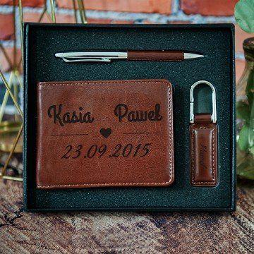 Nasza Data - zestaw z portfelem