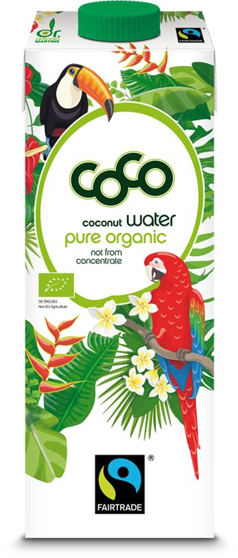 Woda Kokosowa COCO Fair Trade BIO 1L - Dr Martins