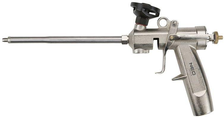 Pistolet do pianki montażowej z mosiężną głowicą 61-011