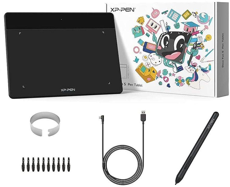 Tablet graficzny XP-Pen Deco Fun S czarny