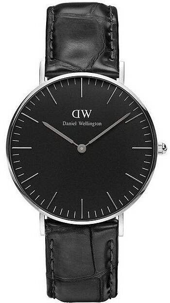 Zegarek DANIEL WELLINGTON DW00100147 BLACK READING