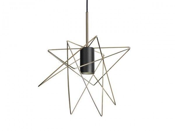 Lampa wisząca druciana czarno złota Gstar loftowa 8854 - Nowodvorski Do -17% rabatu w koszyku i darmowa dostawa od 299zł !