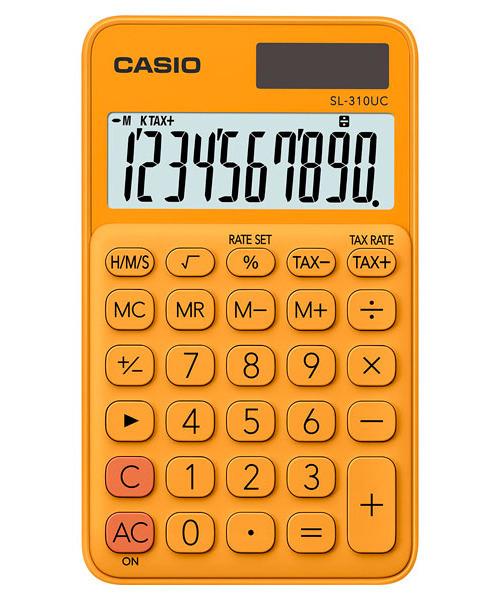 Kalkulator Casio SL-310UC-RG TAX CZAS PAMIĘĆ