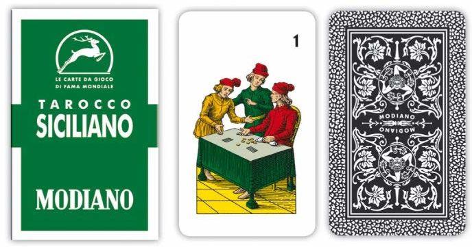 Modny - sycylijski tarot, 300106