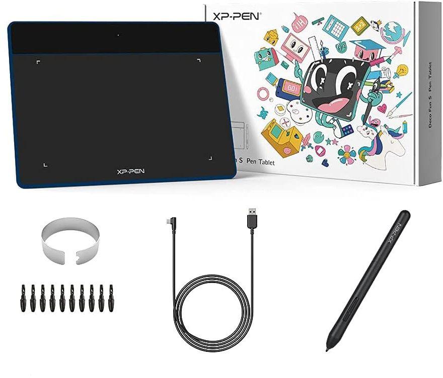 Tablet graficzny XP-Pen Deco Fun S niebieski