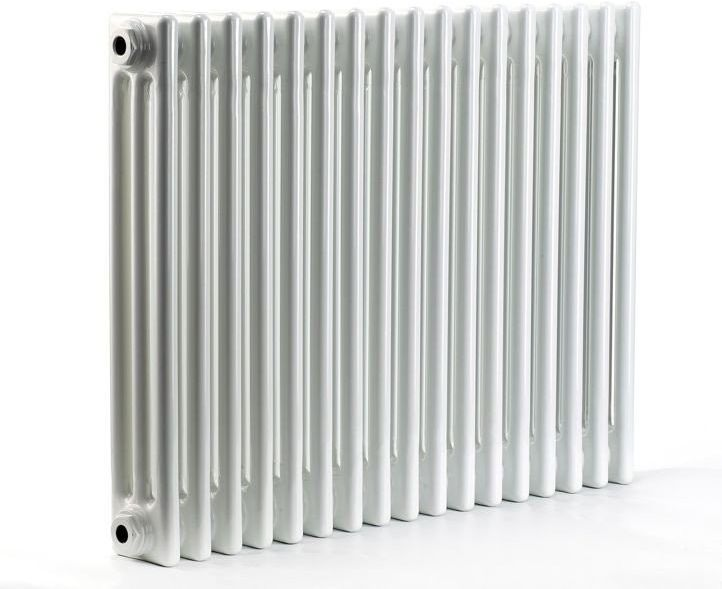 Grzejnik pokojowy retro - 3 kolumnowy, 400x1000, biały/ral - biały