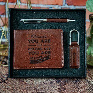 Getting Awesome - zestaw z portfelem