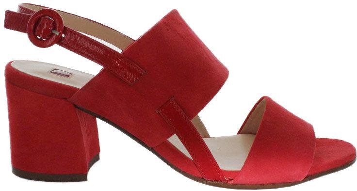 Sandały damskie HÖGL czerwone7-105542-43000