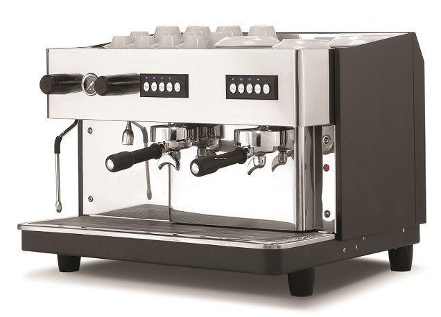 Ekspres do kawy ciśnieniowy 2 kolbowy wysoka grupa