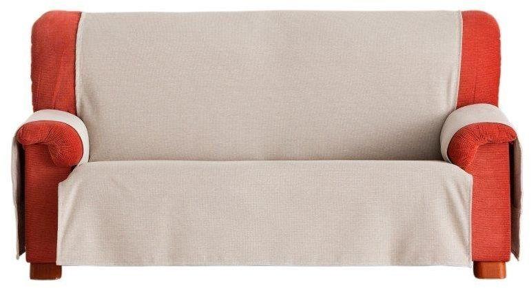 Eysa Constanza nieelastyczna narzuta na sofę 3-osobową, bawełna, 01-len, 37 x 6 x 29 cm