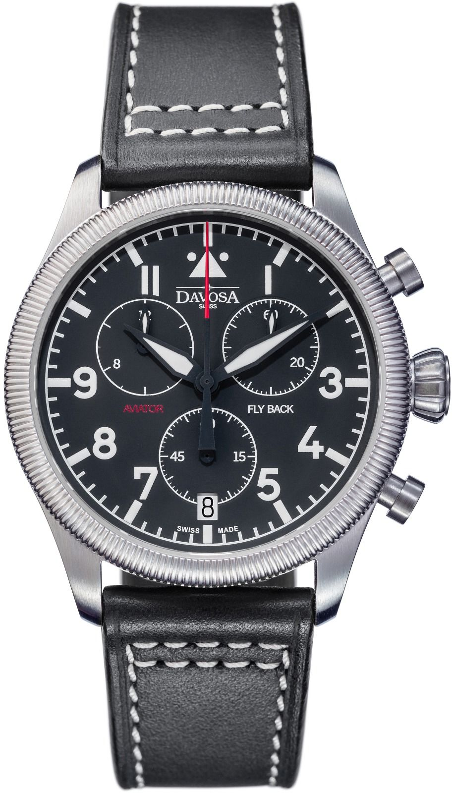 Zegarek męski Davosa Aviator Flyback Chronograph