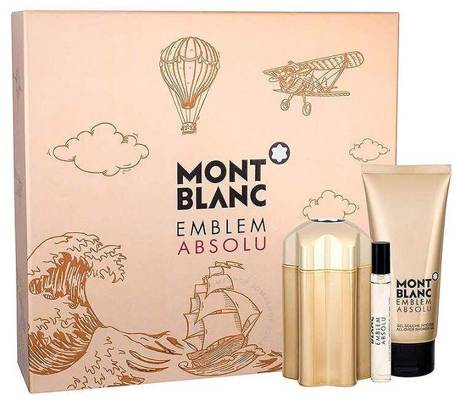 Mont Blanc Emblem Homme Absolu żel pod prysznic 100ml + miniaturka 7,5ml + woda toaletowa - 100ml