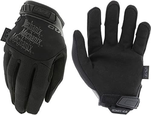 Mechanix Wear Rękawice taktyczne specjalne Pursuit D5 (małe, wszystkie czarne) TSCR-55-008
