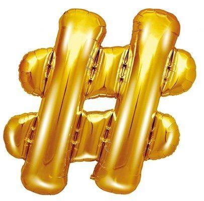 Balon foliowy # złoty 35cm 1szt FB12M-019