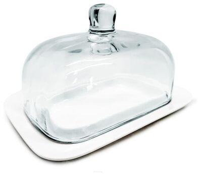 Porcelanowa maselniczka z pokrywą szklaną Nerthus FIH 412