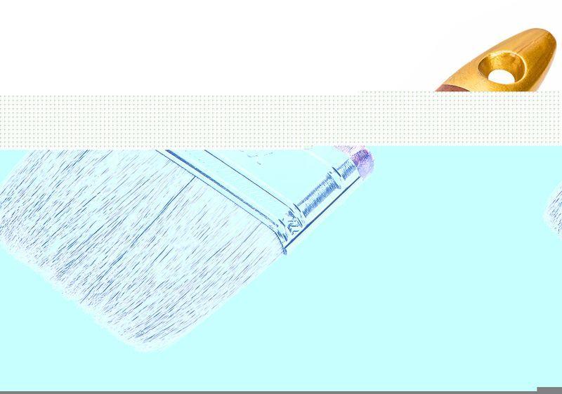 Pędzel płaski uniwersalny 1.0'' S 19B610