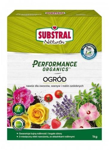 Nawóz do ogrodu  naturalny organiczny  1 kg substral