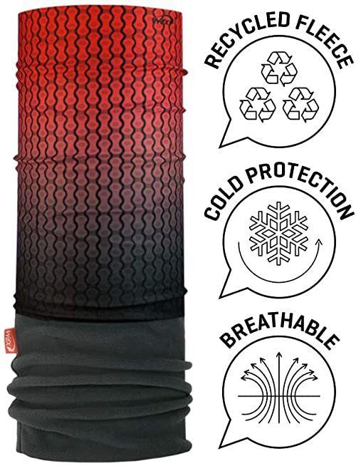 Wind X TREME 2072 chusta na szyję i głowę, męska, czerwona (łańcuszek), rozmiar uniwersalny