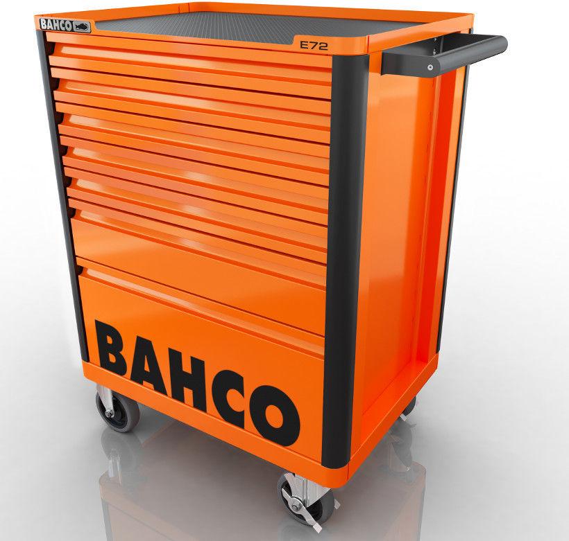 wózek narzędziowy 7-szufladowy pomarańczowy Bahco [1472K7]