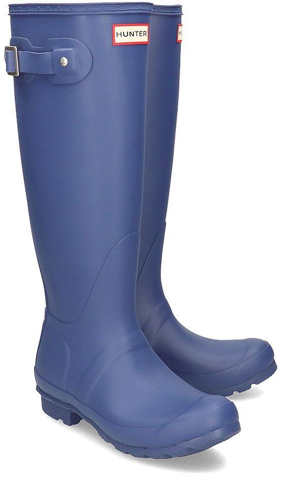 Hunter Original Tall - Kalosze Damskie - WFT1000RMA PEAK BLUE - Niebieski Granatowy