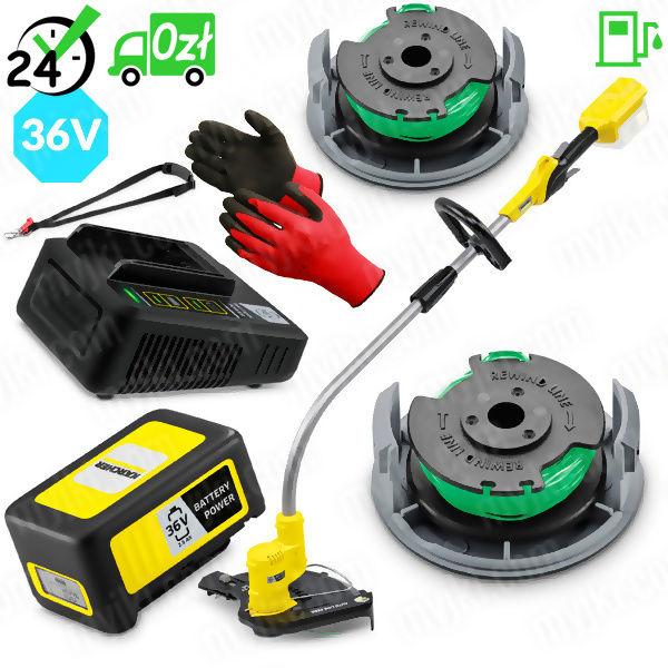 LTR 36-33 Battery podkaszarka akumulatorowa (7000obr/min, 28cm), Karcher REFILL FULL+ ZAPLANUJ DOSTAWĘ SKLEP SPECJALISTYCZNY KARTA 0ZŁ POBRANIE 0ZŁ ZWROT 30DNI RATY GWARANCJA D2D LEASING WEJDŹ I KUP NAJTA ZAPLANUJ DOSTAWĘ SKLEP SPECJALISTYCZNY KARTA 0ZŁ POBRANIE 0ZŁ ZWROT 30DNI RATY GWARANCJA D2D LEASING WEJDŹ I KUP NAJTANIEJ