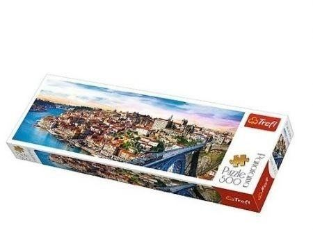 Puzzle 500 Panorama - Porto Portugalia TREFL