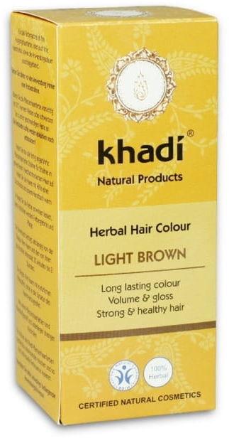 Henna jasny brąz - khadi