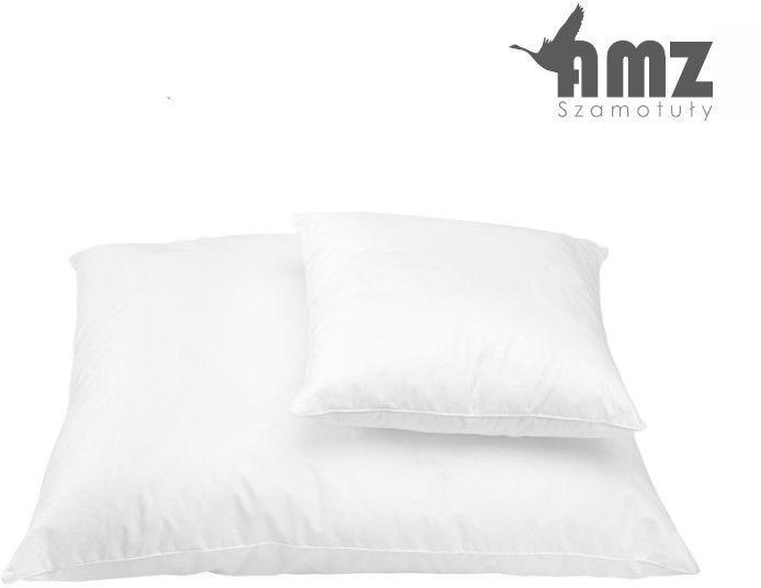 Poduszka antyalergiczna AMZ Cotton Inlet, Rozmiar - 40x40, Kolor - kremowy, Poduszka - gładka NAJLEPSZA CENA, DARMOWA DOSTAWA