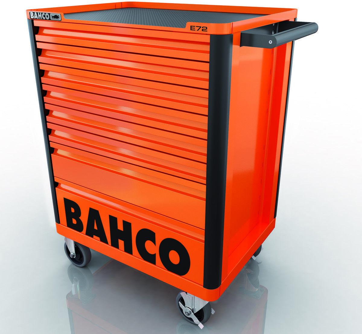 wózek narzędziowy 8-szufladowy pomarańczowy Bahco [1472K8]