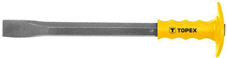 Przecinak z ochraniaczem 400x19mm stal stopowa przekrój sześciokątny 03A149