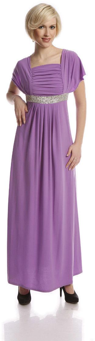 Sukienka FSU123 FIOLETOWY