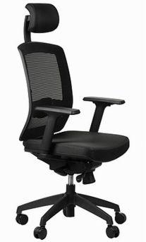 Fotel Ergon czarny