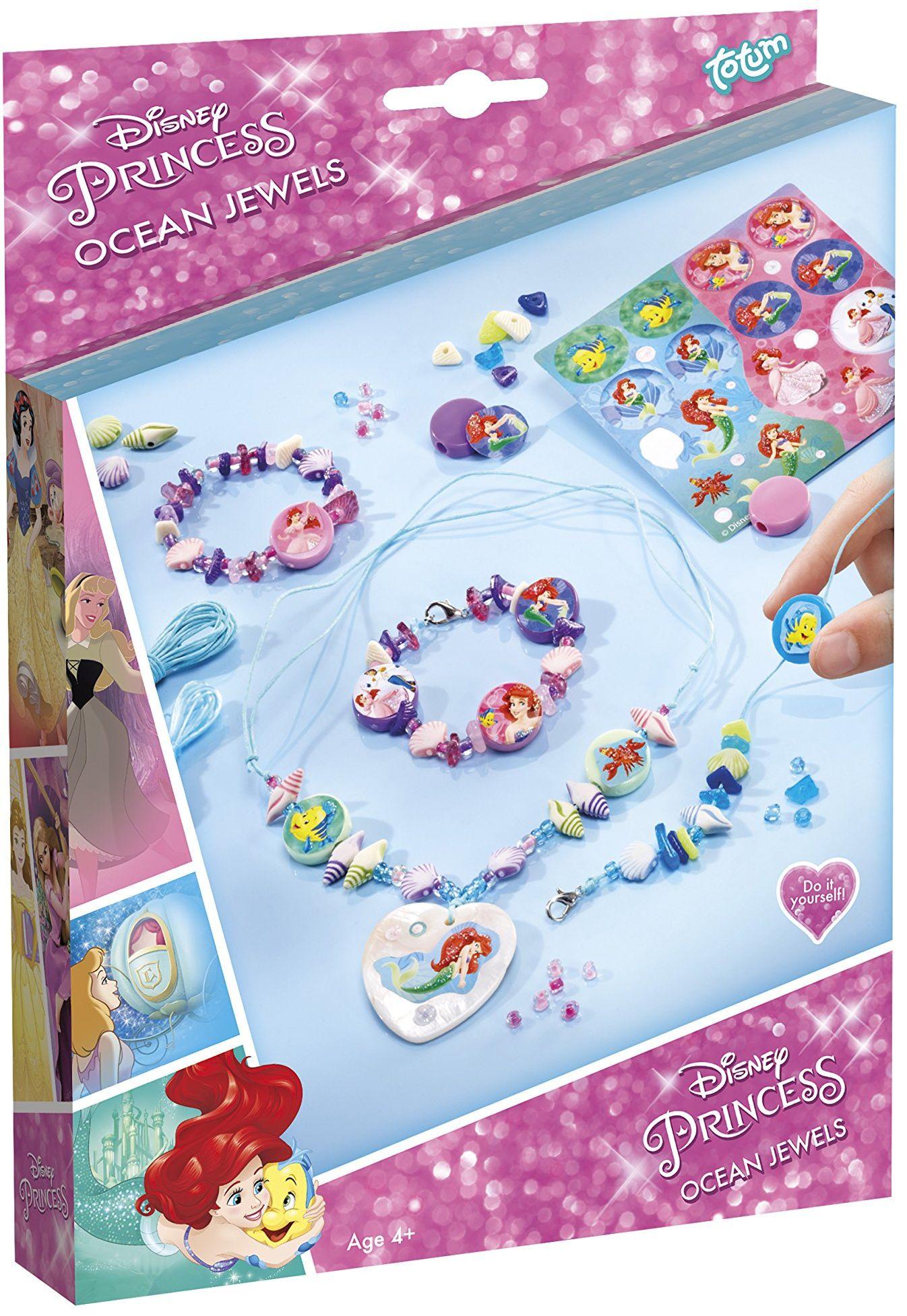 Totum Disney Princess Zestaw Bizuterii Ocean Jewels w Pudelku Prezentowym