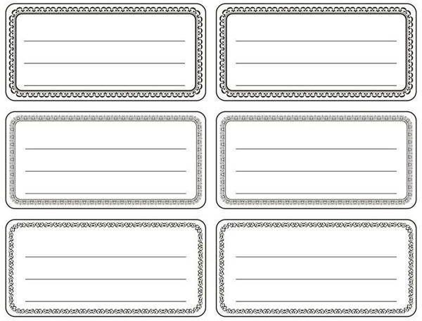 Naklejki na zeszyty biało czarne 144szt - Titanum